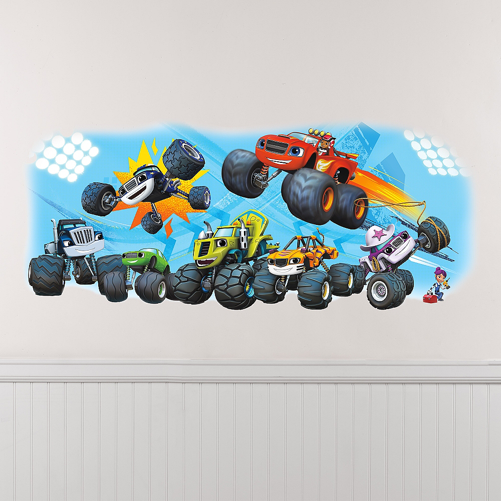 Giant Blaze and the Monster Machines Wall Decal Image #1