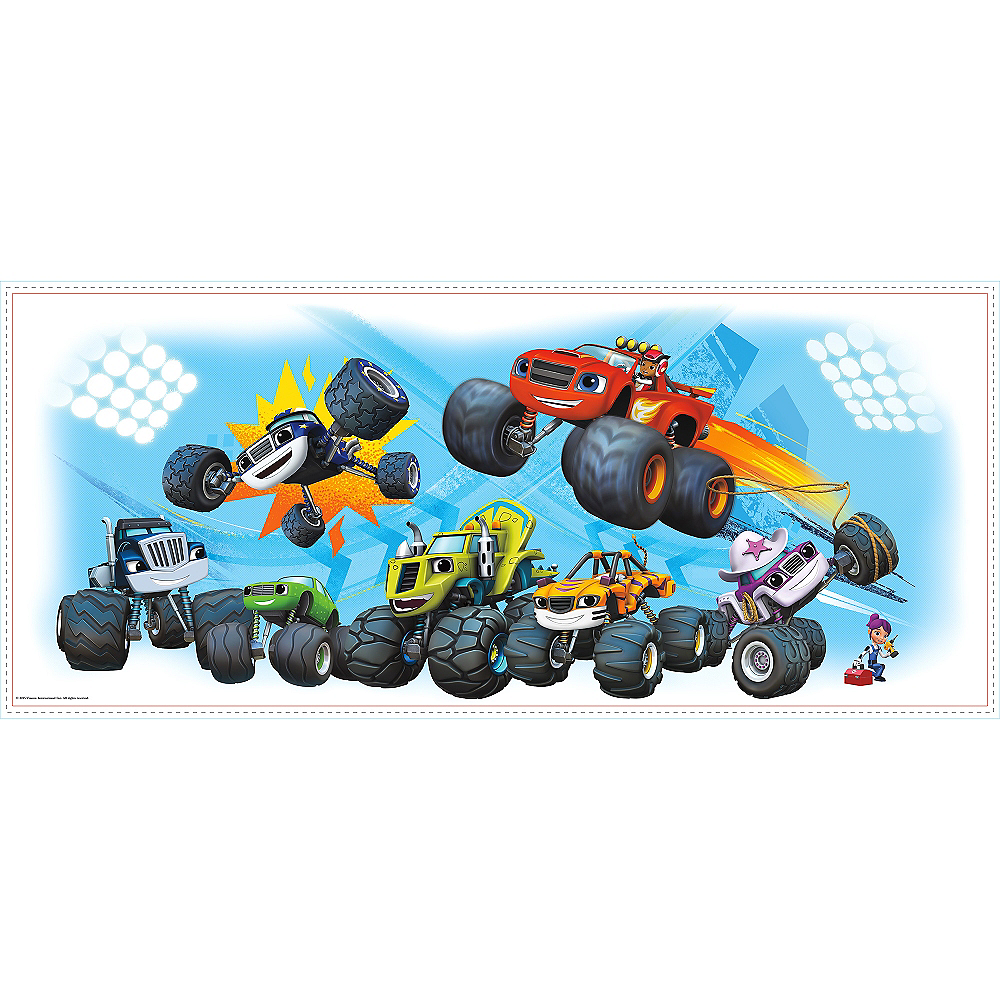 Giant Blaze and the Monster Machines Wall Decal Image #2