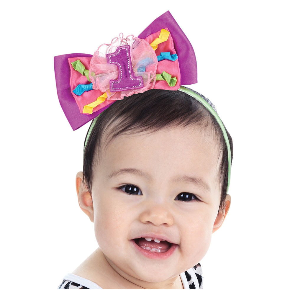Rainbow 1st Birthday Girl Smash Cake Kit Image #3