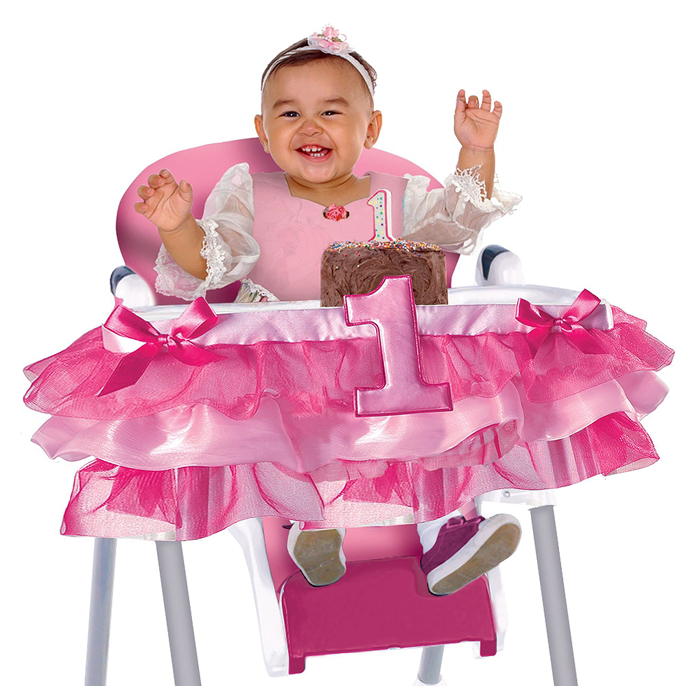 Rainbow 1st Birthday Girl Smash Cake Kit Image #4