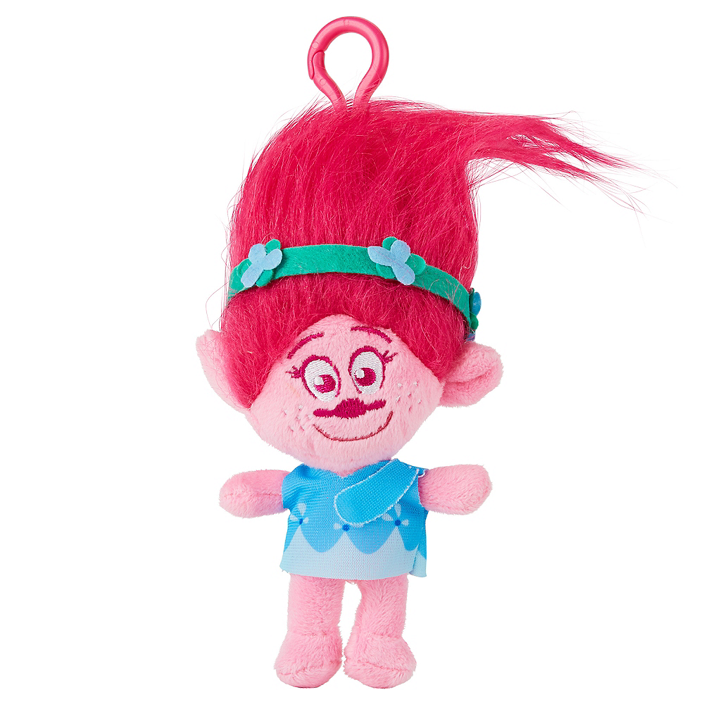 Clip-On Poppy Plush - Trolls Image #1