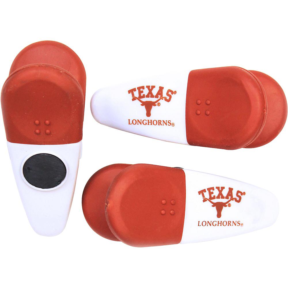 Texas Longhorns Magnetic Bag Clips 3ct Image #1