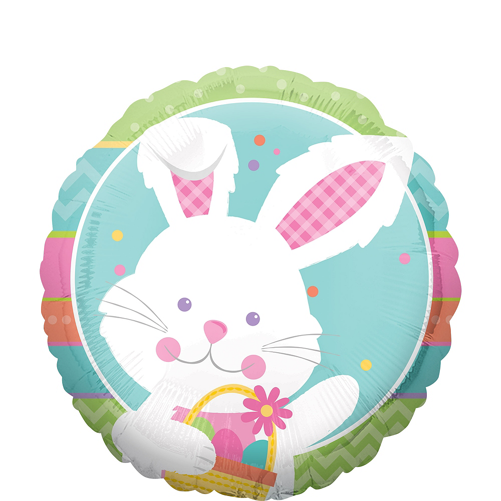 Nav Item for Hippity Hop Easter Bunny Balloon Image #1