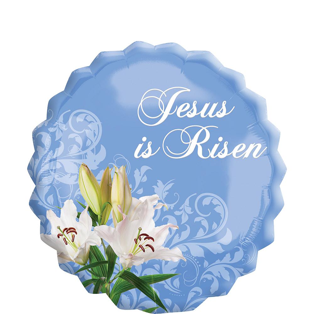 Giant Jesus is Risen Easter Balloon Image #1