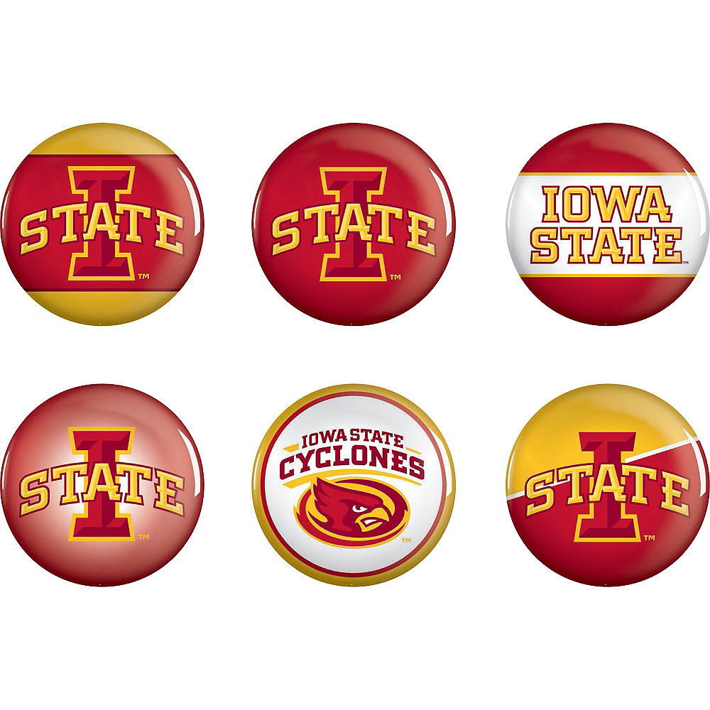 Iowa State Cyclones Buttons 6ct Party City Canada