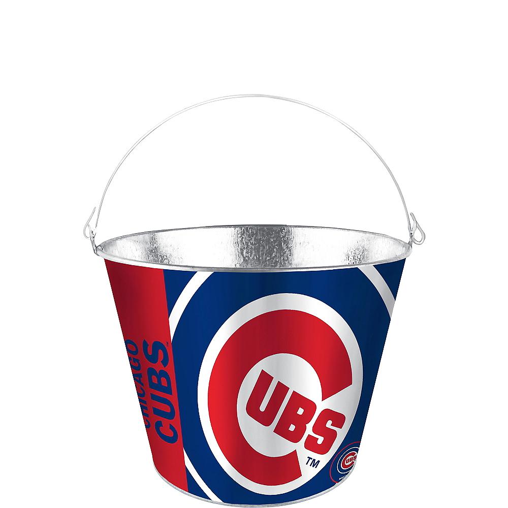 Chicago Cubs Galvanized Bucket Image #1