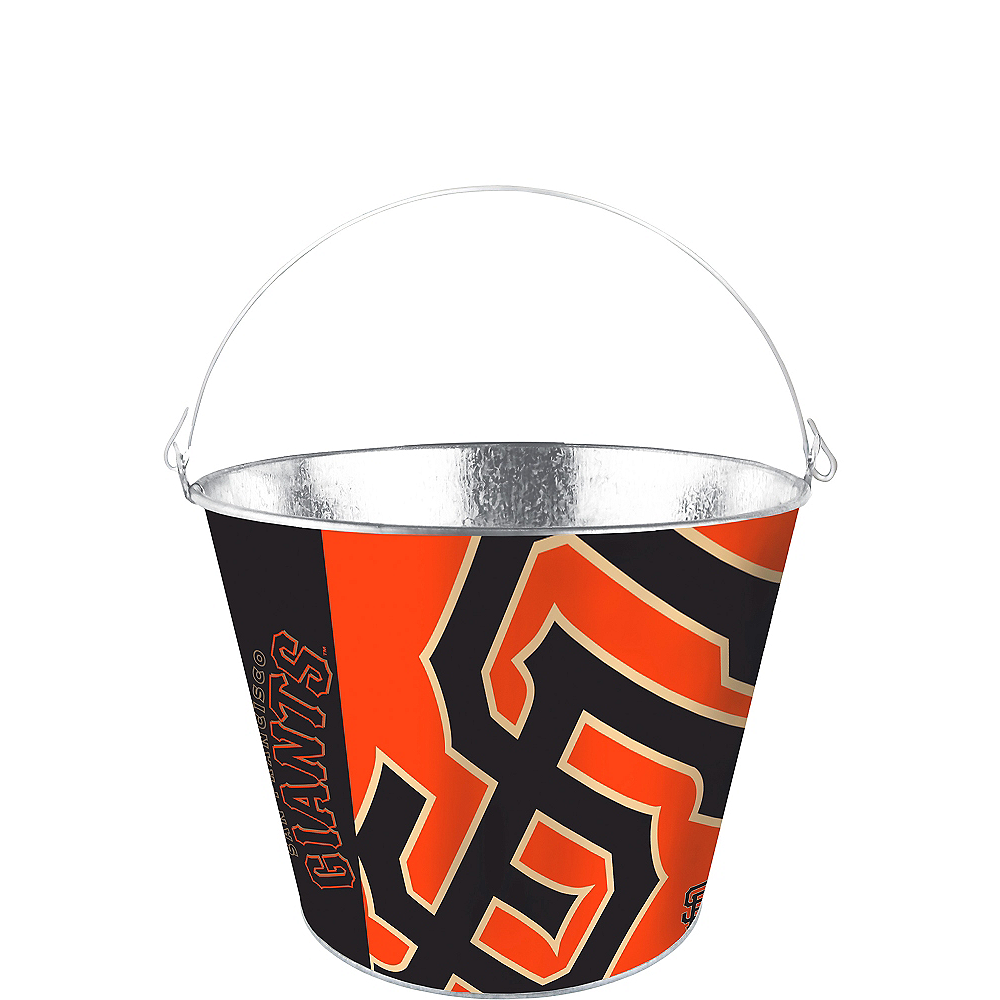 San Francisco Giants Galvanized Bucket Image #1