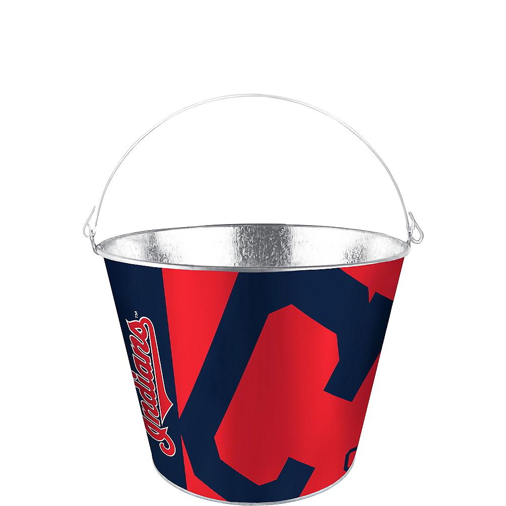 Cleveland Indians Galvanized Bucket Image #1