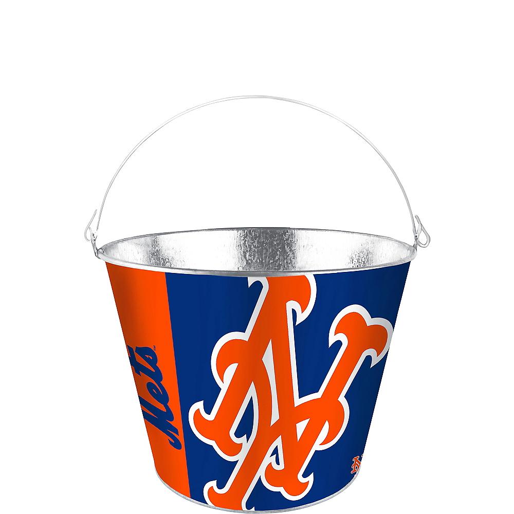 New York Mets Galvanized Bucket Image #1