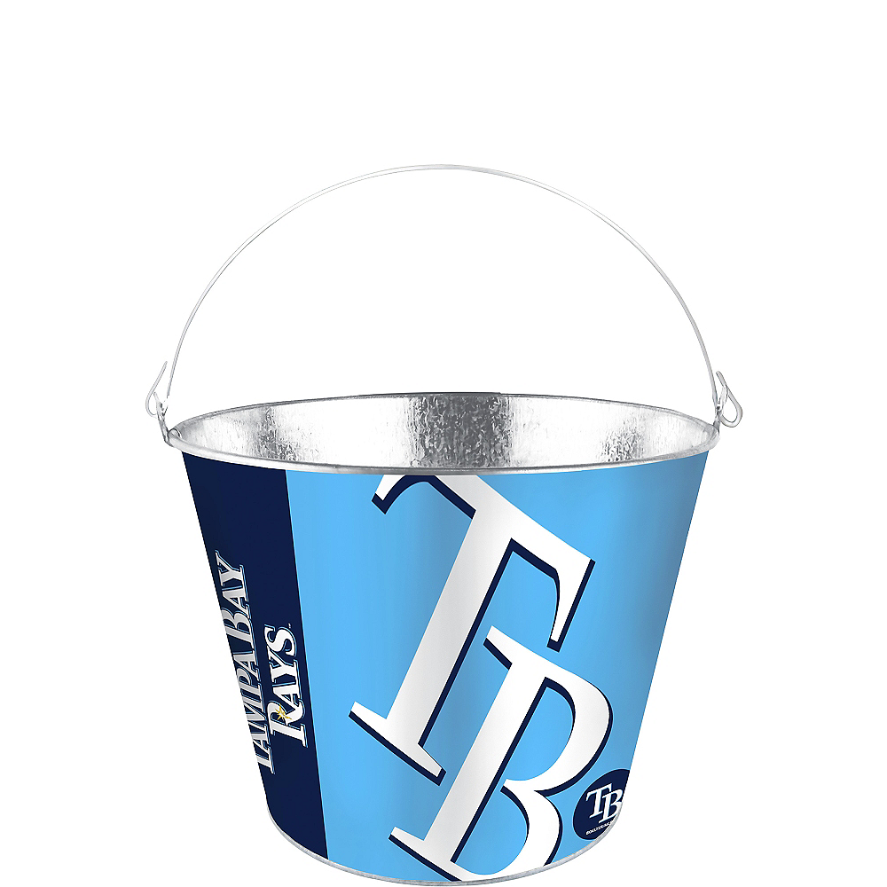 Tampa Bay Rays Galvanized Bucket Image #1