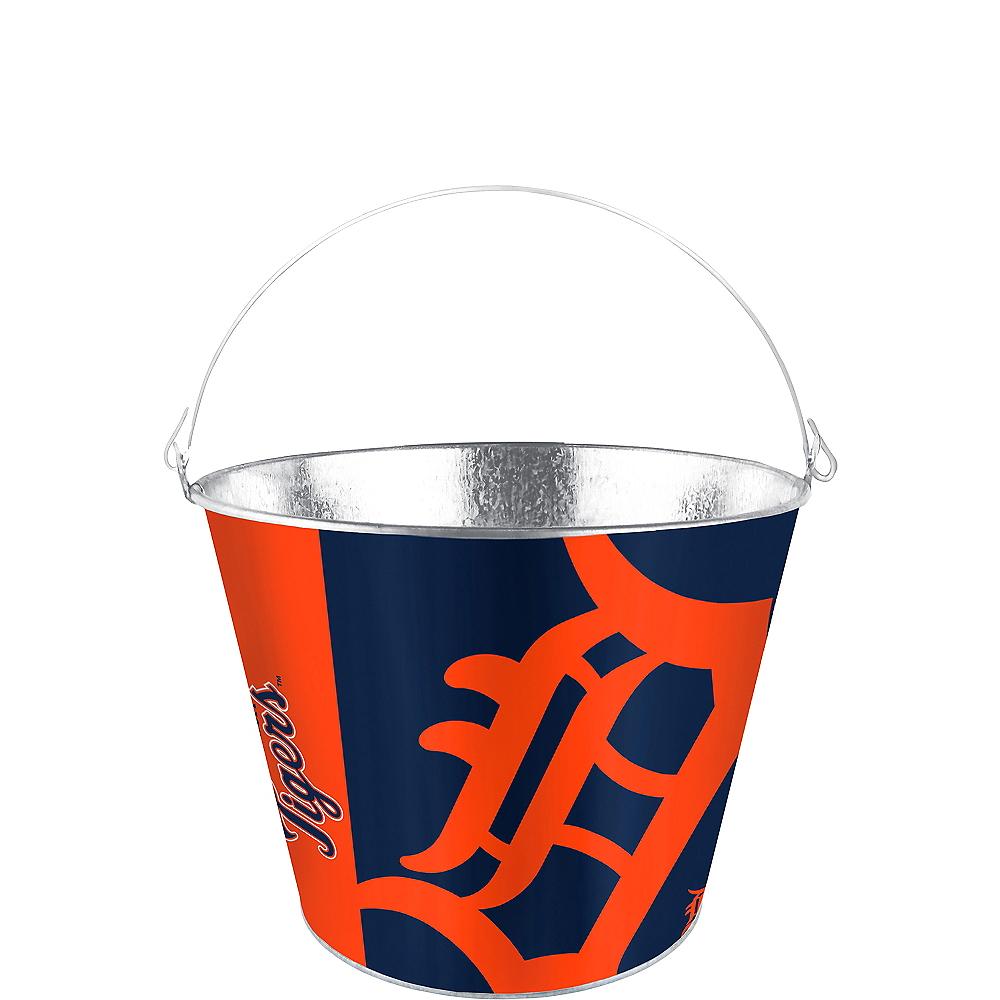 Detroit Tigers Galvanized Bucket Image #1