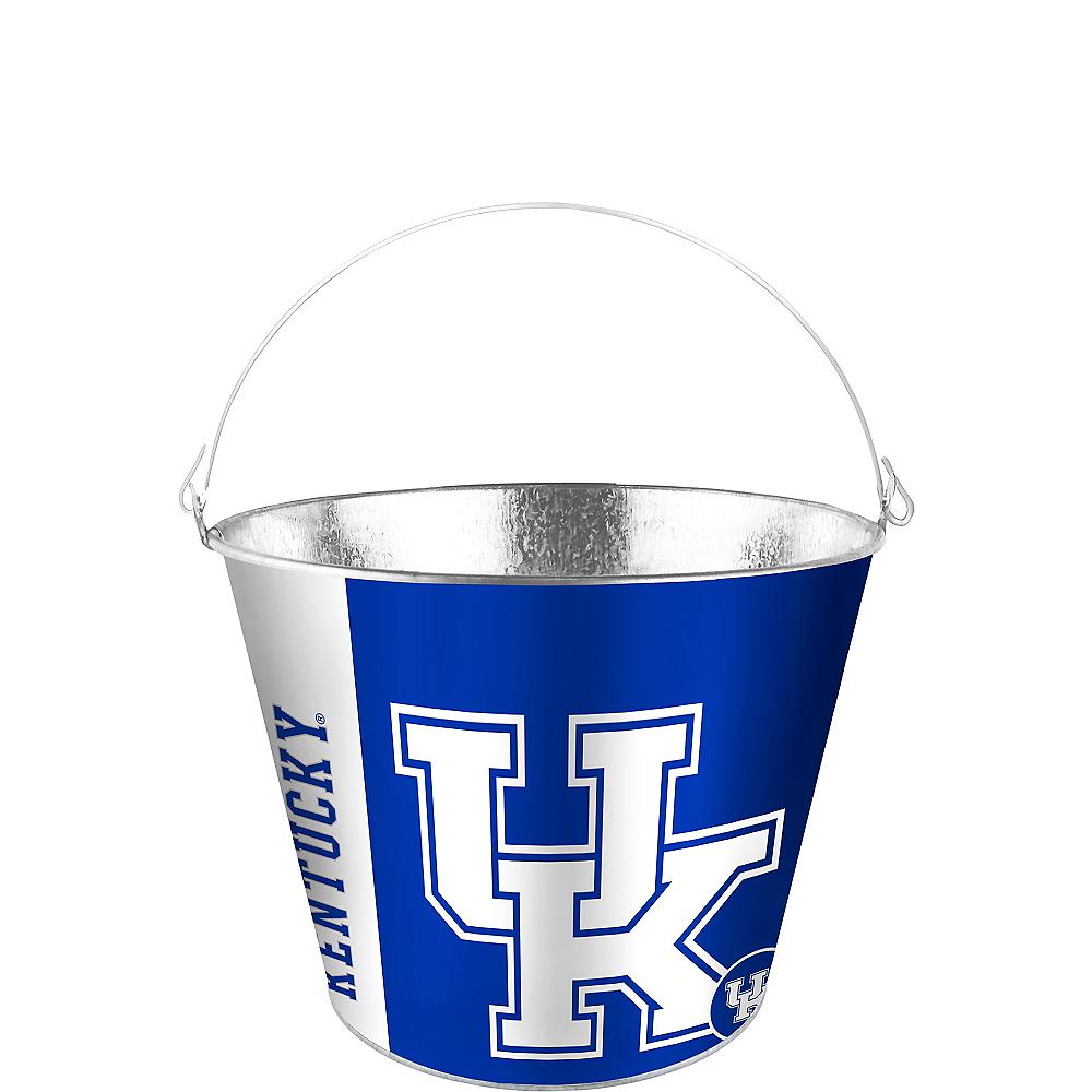 Kentucky Wildcats Galvanized Bucket Image #1