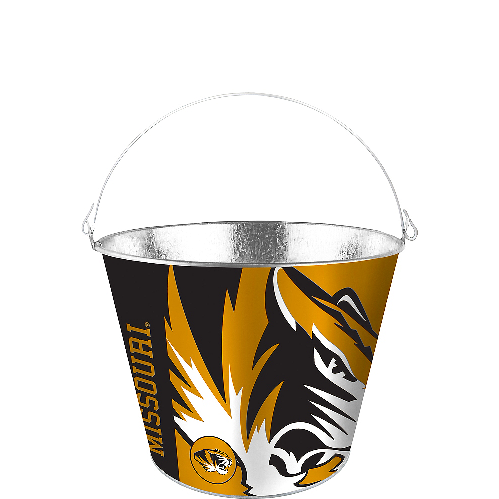 Missouri Tigers Galvanized Bucket Image #1