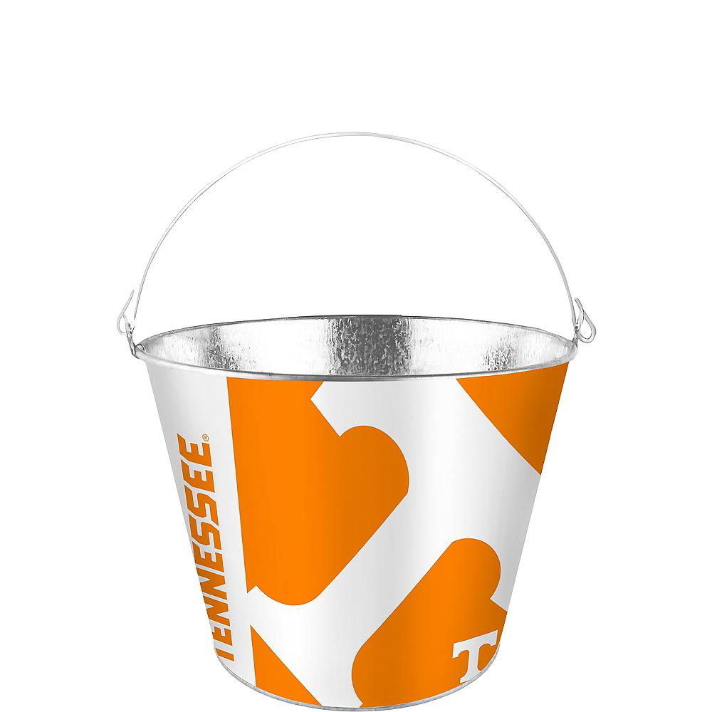 Tennessee Volunteers Galvanized Bucket Image #1