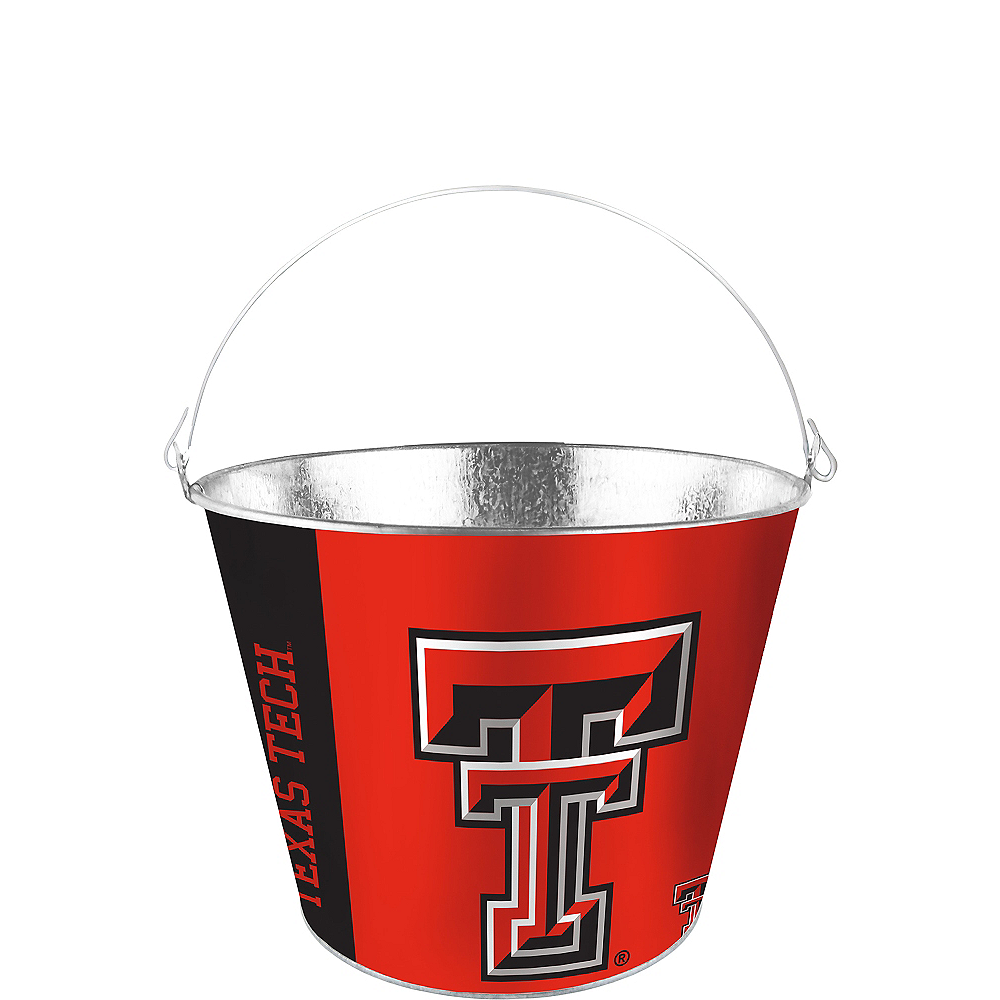 Texas Tech Red Raiders Galvanized Bucket Image #1