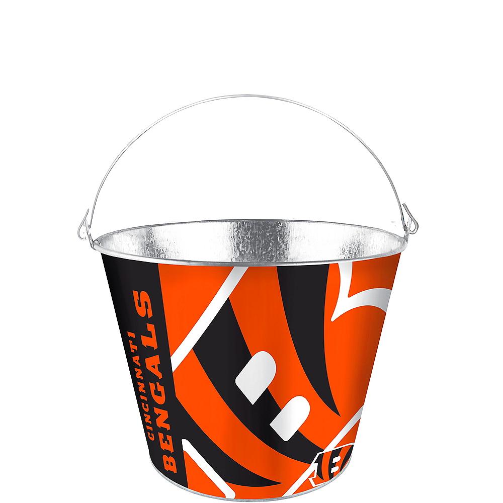 Cincinnati Bengals Galvanized Bucket Image #1