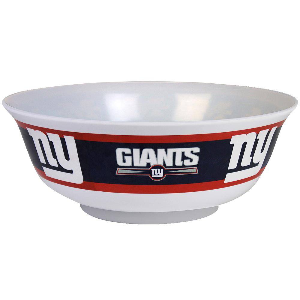 New York Giants Serving Bowl Image #1