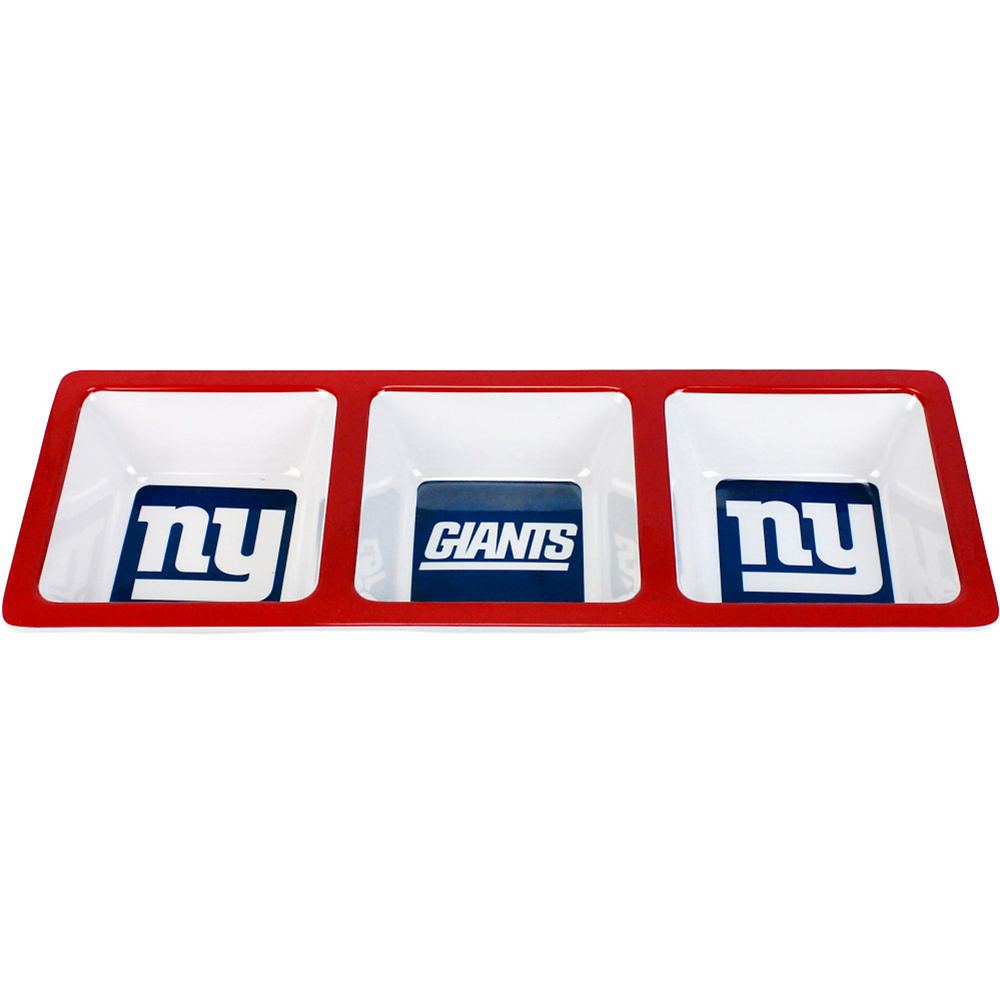 New York Giants Divided Snack Tray Image #1