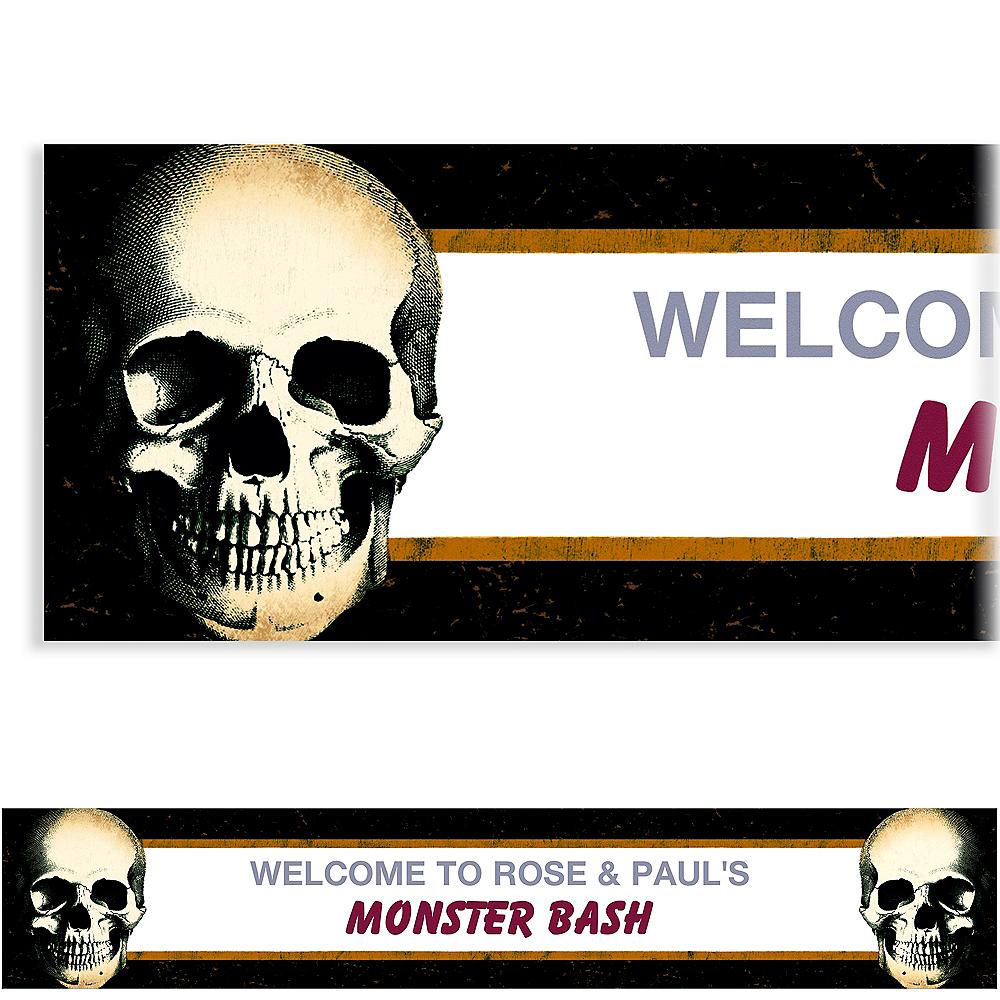 Custom Skull Banner Image #1