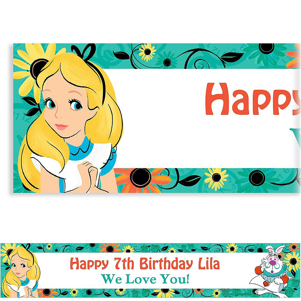 Custom Alice in Wonderland Banner Image #1