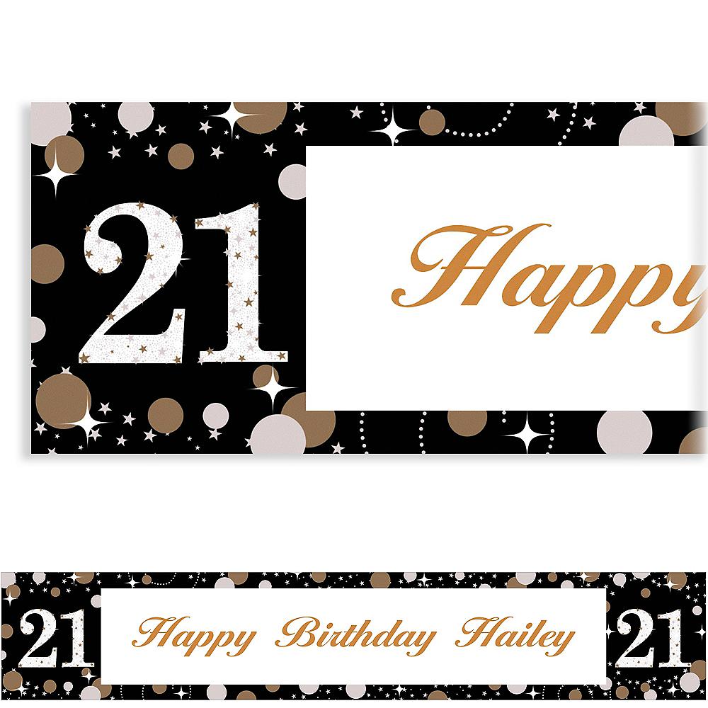 Custom Sparkling Celebration 21 Banner Image #1