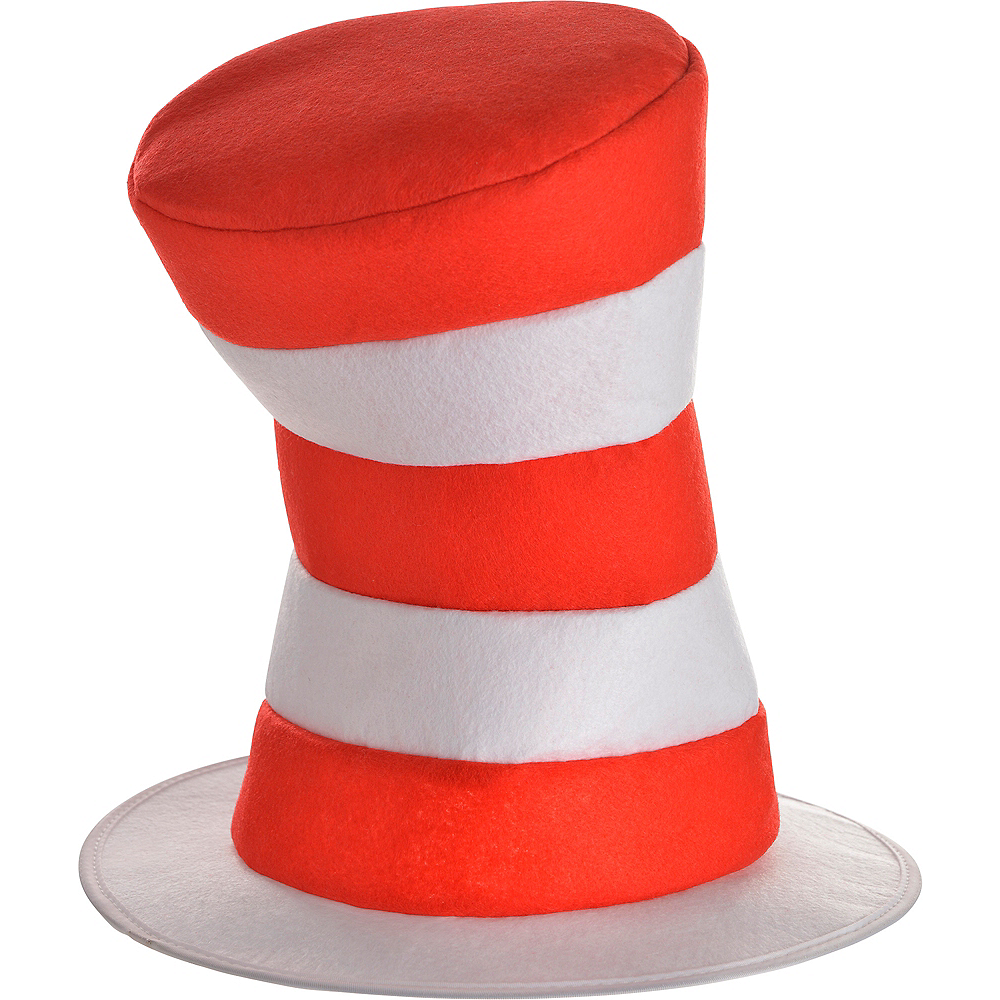 Adult Cat in the Hat Costume Accessory Kit - Dr. Seuss Image #2