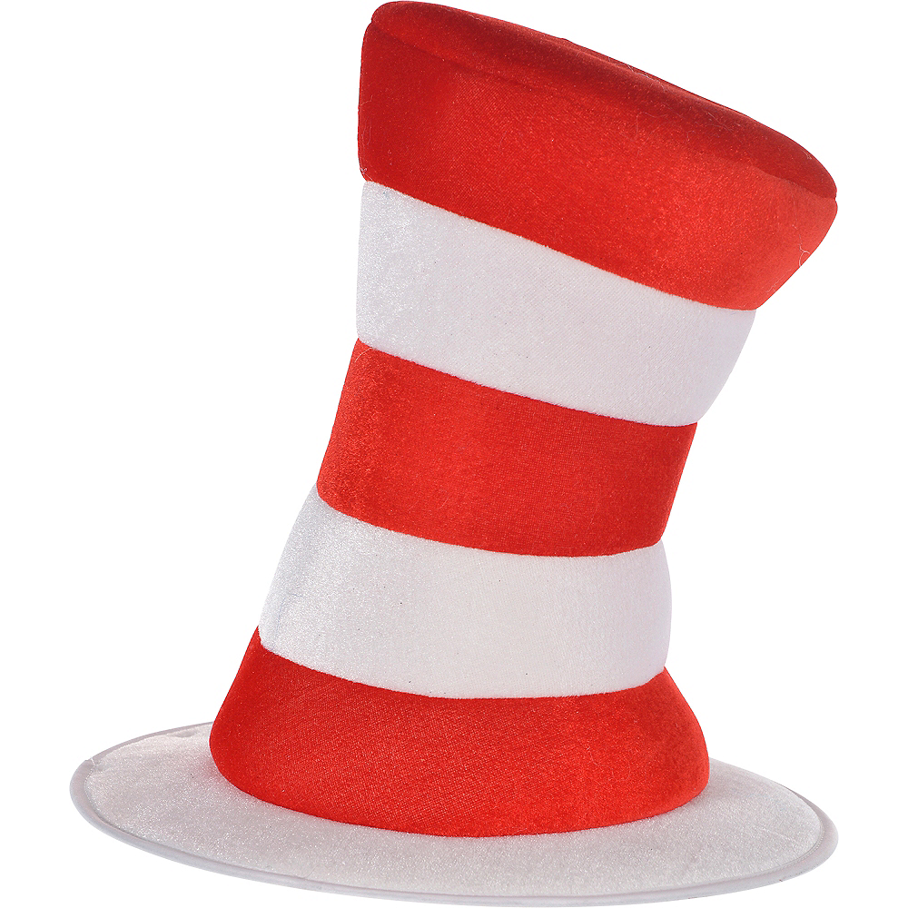 Adult Cat in the Hat Top Hat - Dr. Seuss 12 1 2in x 10in  e8525cfb160c