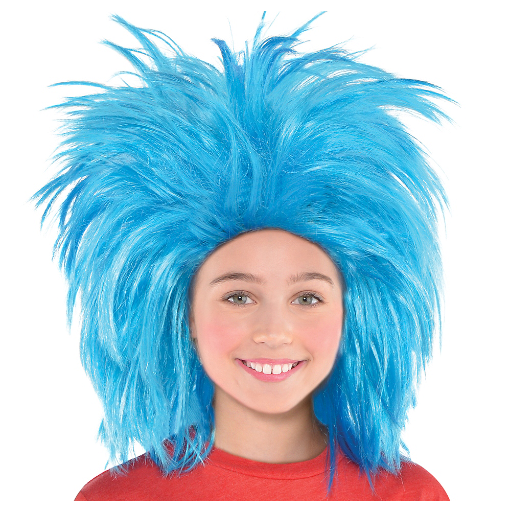 Nav Item for Thing 1 & Thing 2 Wig - Dr. Seuss Image #1