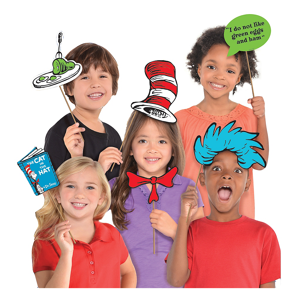 Dr. Seuss Photo Booth Props 13ct Image #1
