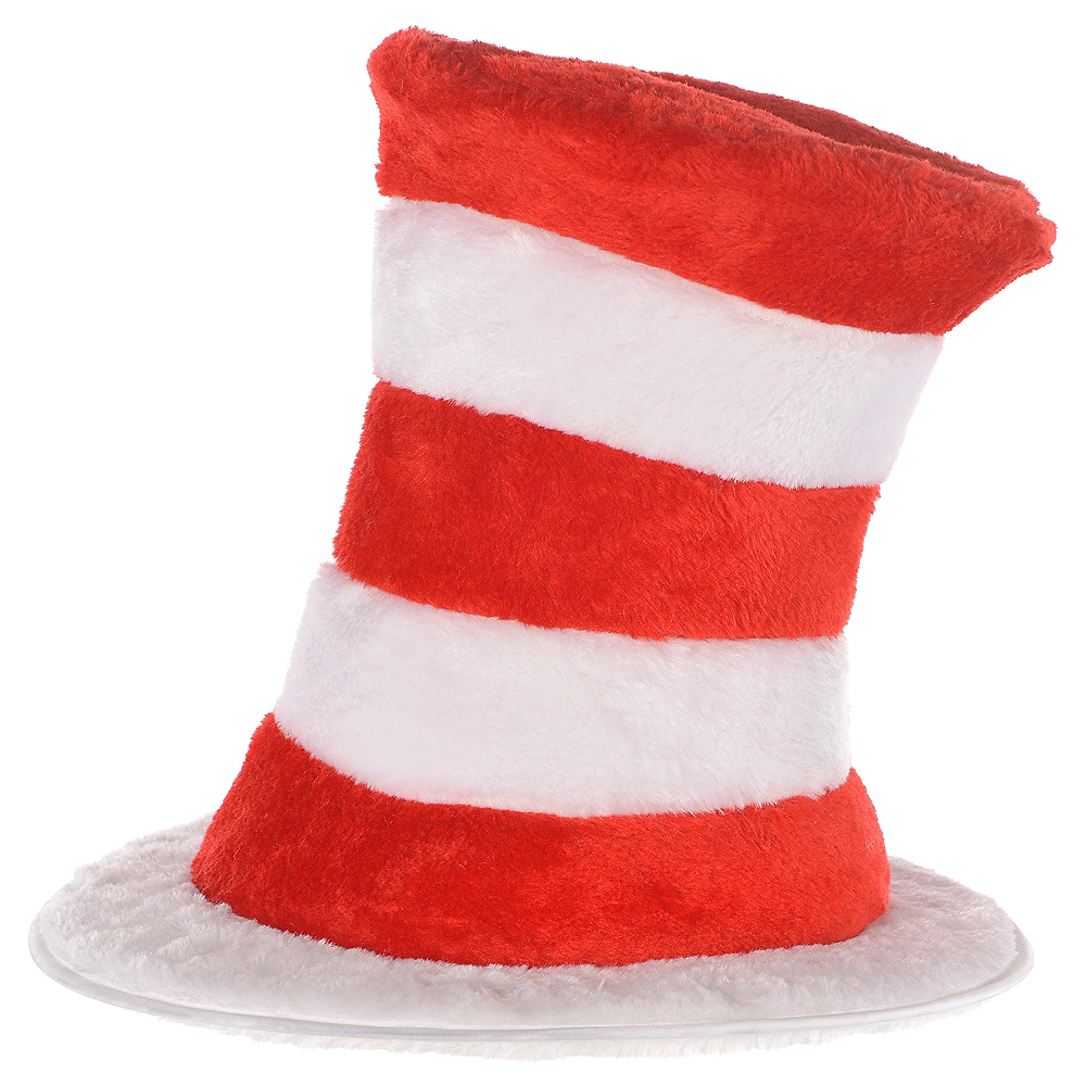 Plush Cat in the Hat Top Hat - Dr. Seuss Image #1