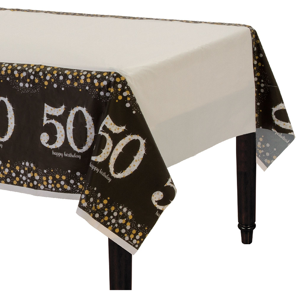 Sparkling Celebration 50th Birthday Party Kit for 32 Guests Image #7