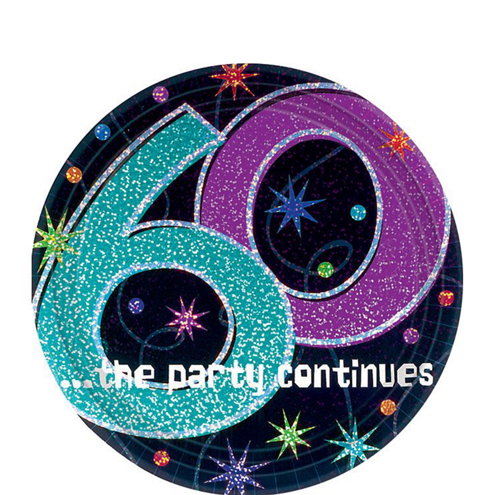 Nav Item For The Party Continues 60th Birthday Kit 32 Guests Image 4