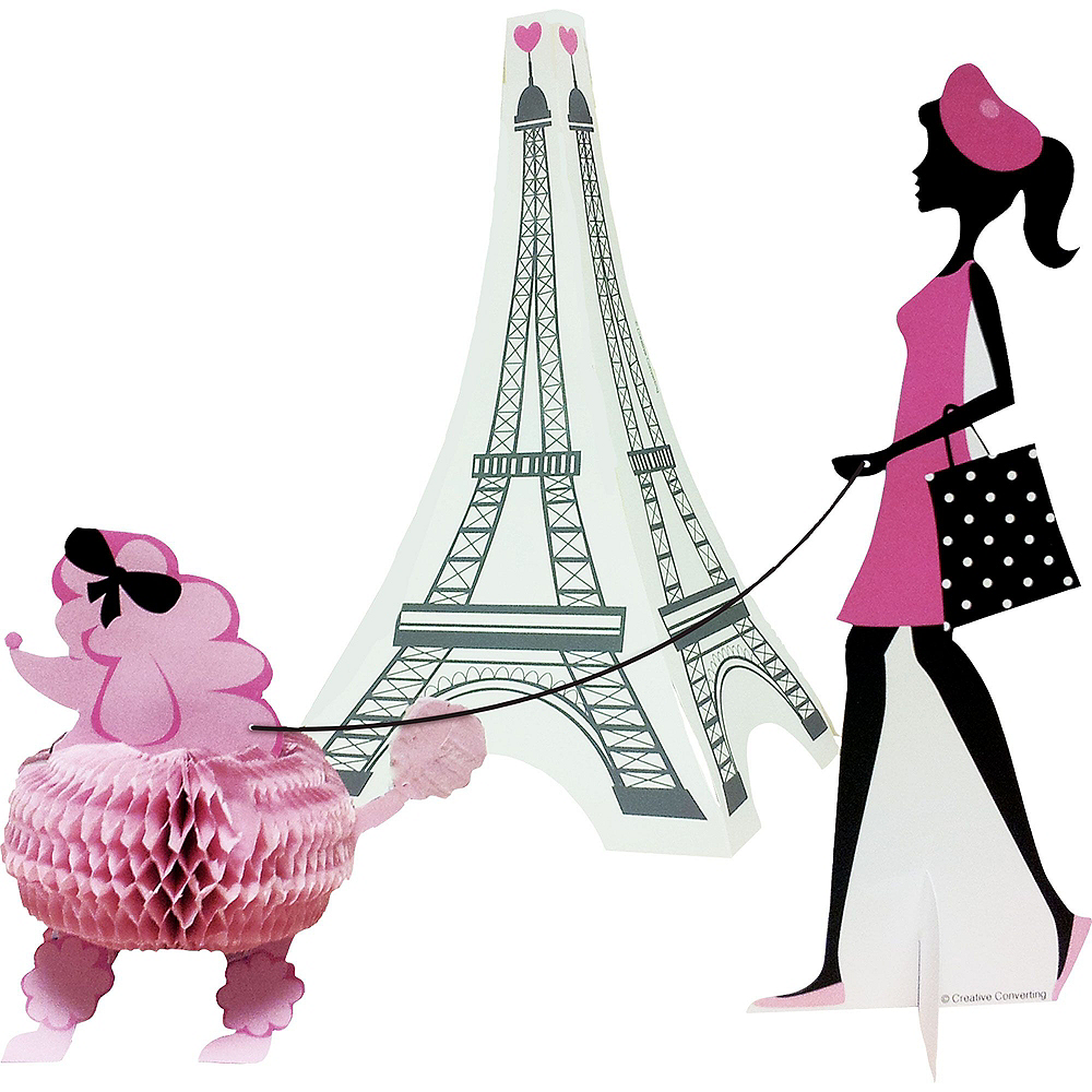 Pink Paris 13th Birthday Party Kit for 32 Guests Image #9