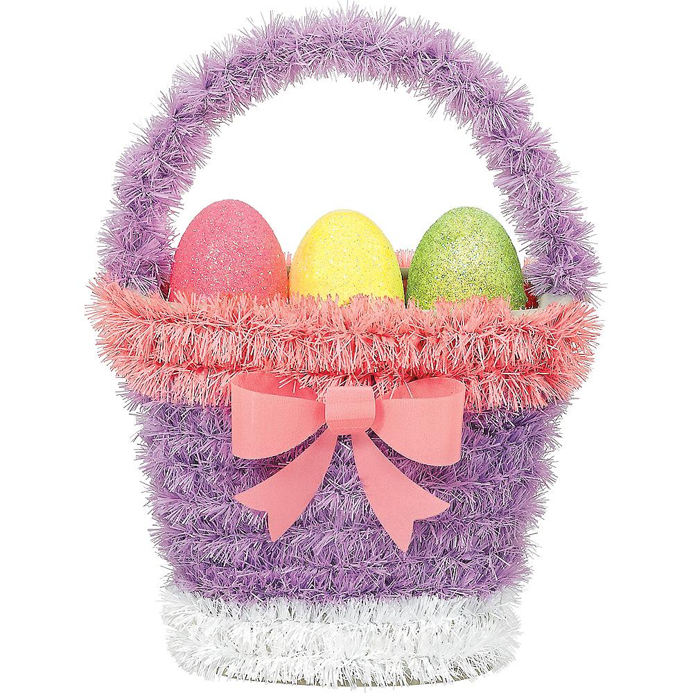 Tinsel Easter Basket Image #1