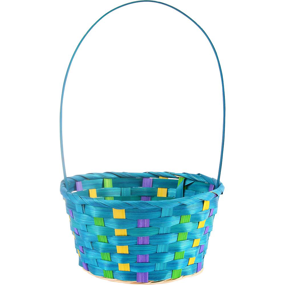 Small Blue Easter Basket Image #1