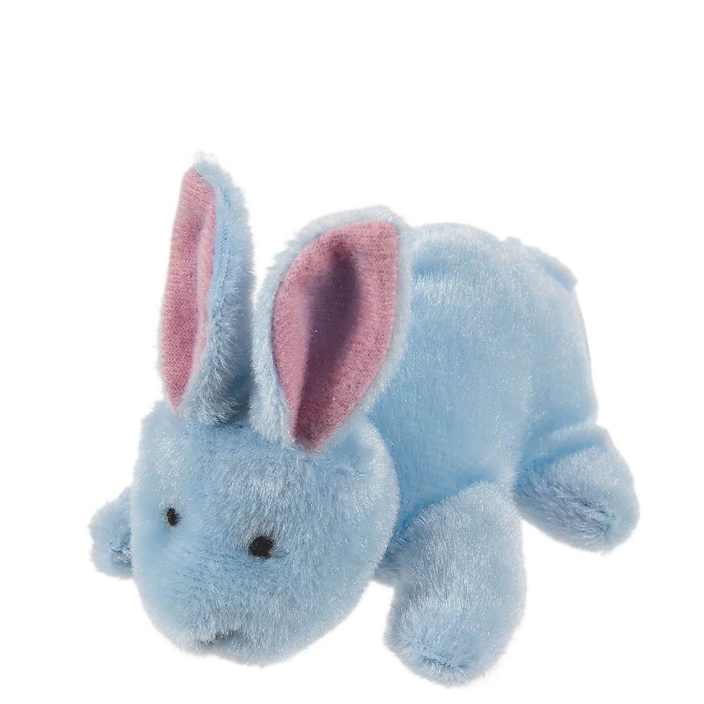 Blue Easter Bunny Plush Image #1