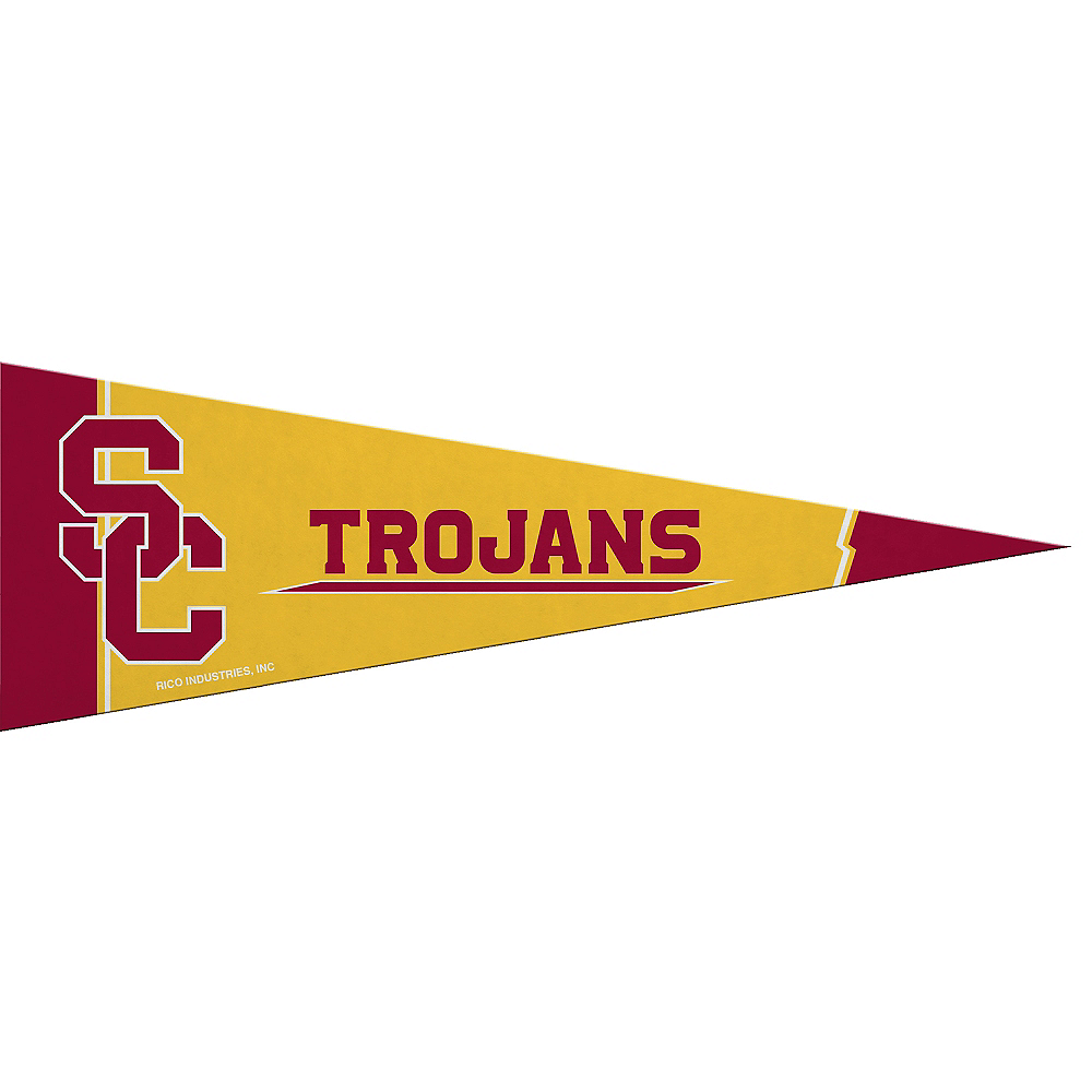Small USC Trojans Pennant Flag Image #1