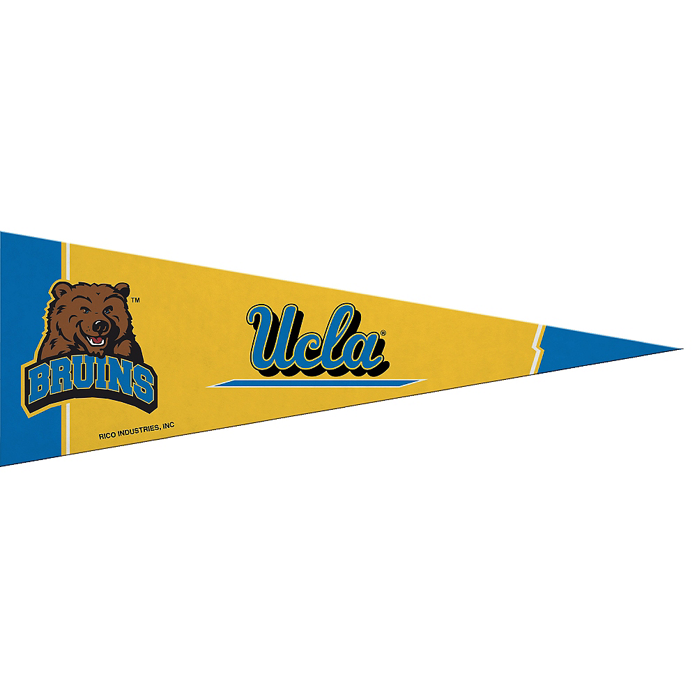 Small UCLA Bruins Pennant Flag Image 1