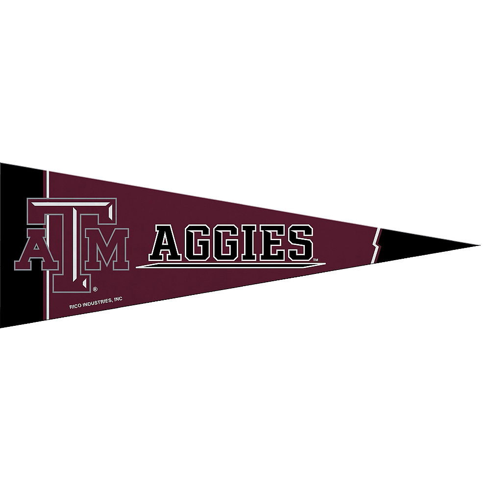 Small Texas A&M Aggies Pennant Flag Image #1