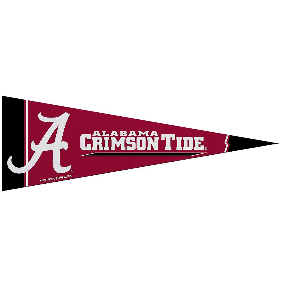 Small Alabama Crimson Tide Pennant Flag Image #1