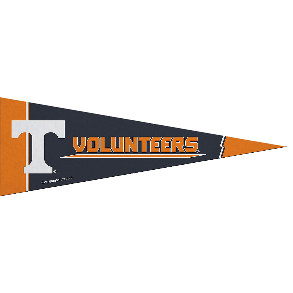 Nav Item for Small Tennessee Volunteers Pennant Flag Image #1