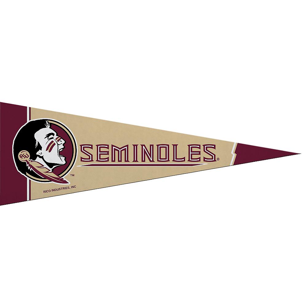 Small Florida State Seminoles Pennant Flag Image #1