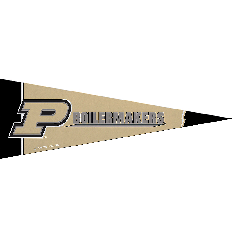 Small Purdue Boilermakers Pennant Flag Image #1
