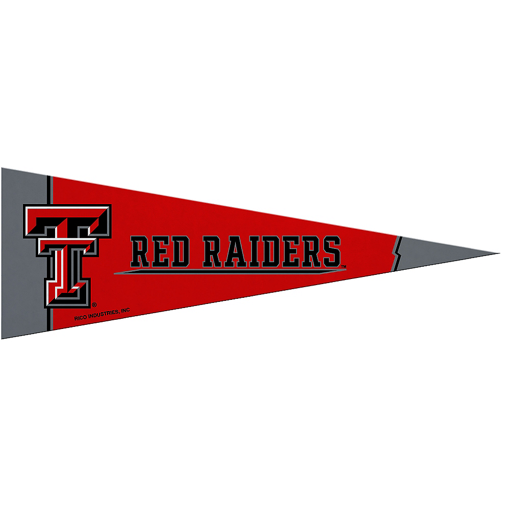 Small Texas Tech Red Raiders Pennant Flag Image #1