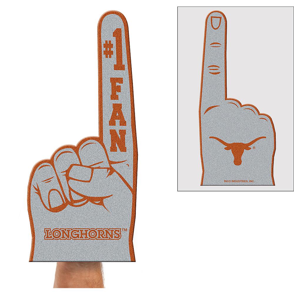 Texas Longhorns Foam Finger Image #1