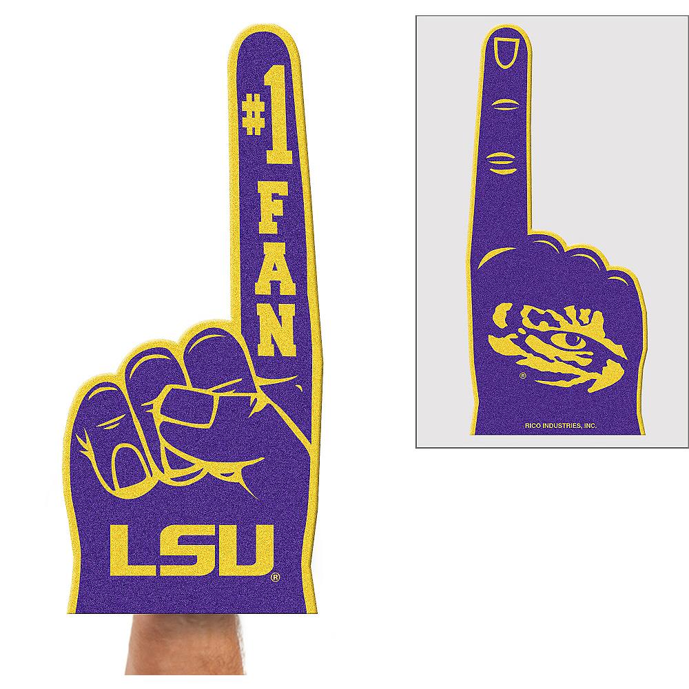 Louisiana State Tigers Foam Finger Image #1