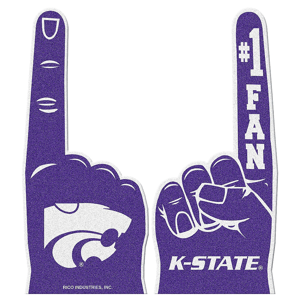 Kansas State Wildcats Foam Finger Image #1