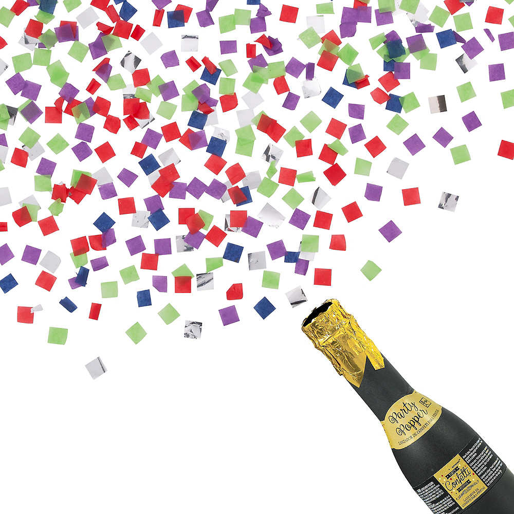 Bottle Confetti Popper Image #1