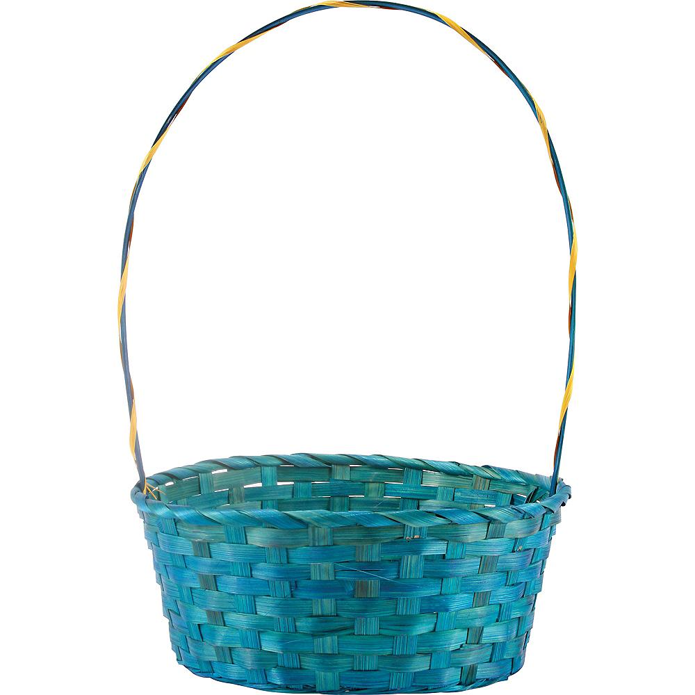 Large Blue Easter Basket Image #1