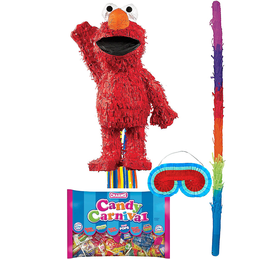Elmo Pinata Kit Image #1